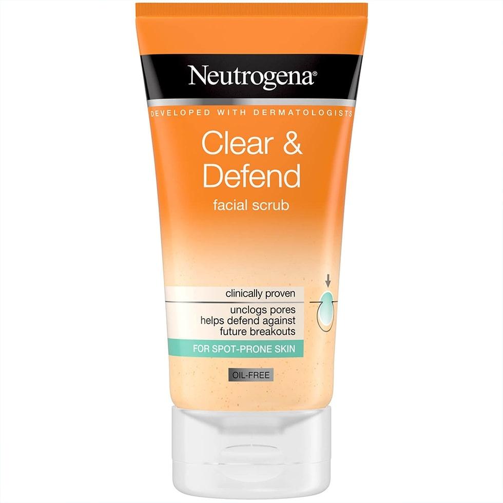 Clear & Defend Facial Scrub