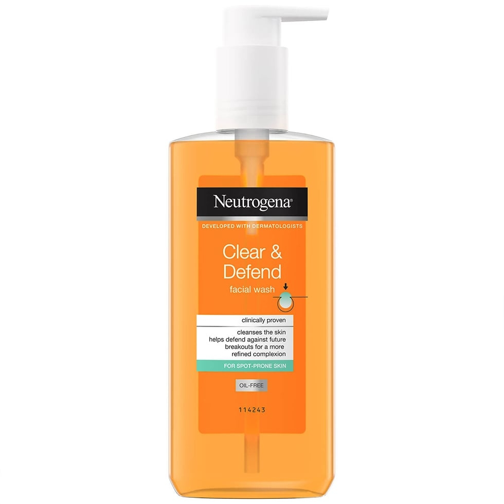 Neutrogena Clear & Defend Facial Wash