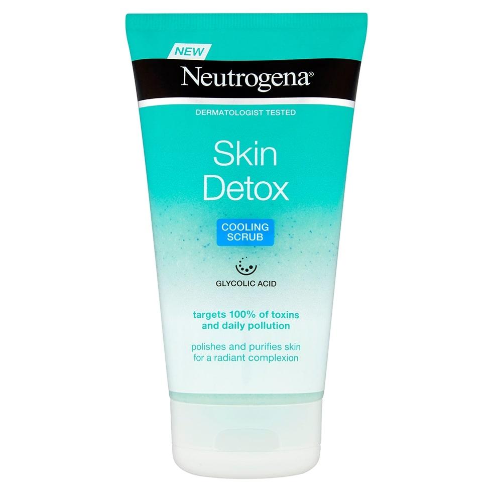 Skin Detox Cooling Gel Scrub