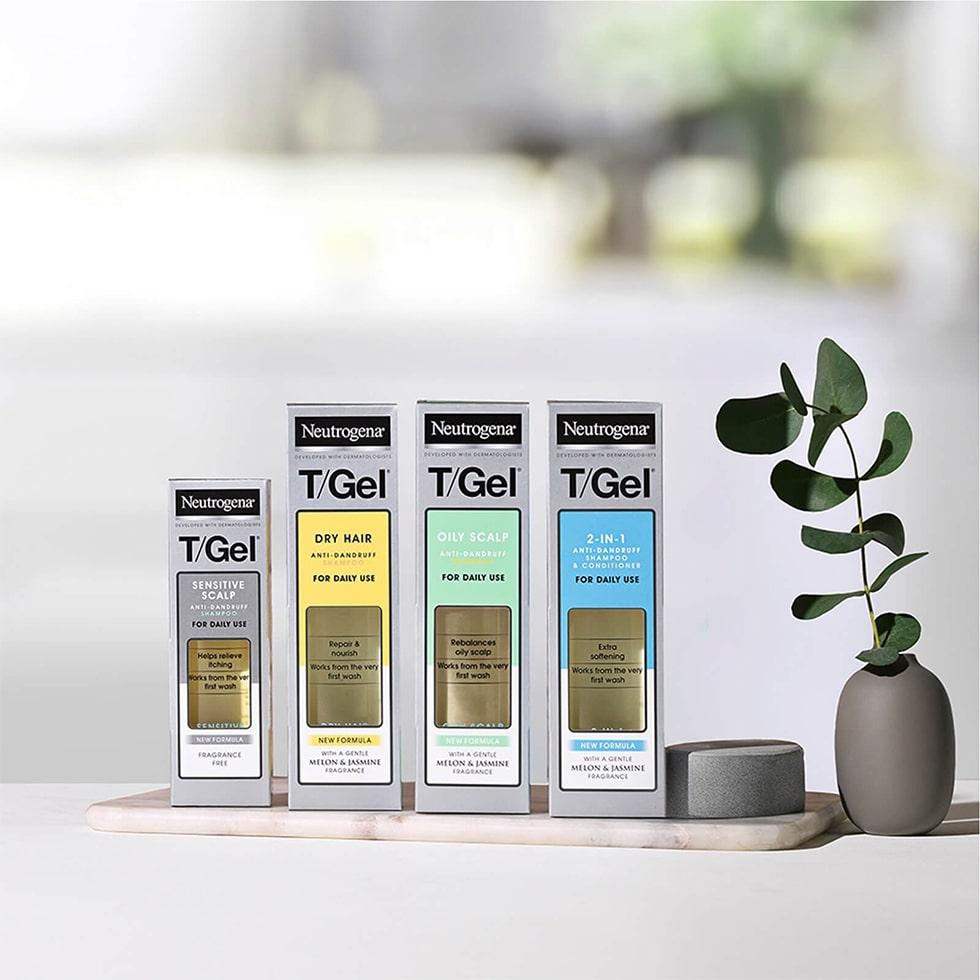 T/Gel Anti-Dandruff 2 in 1 Shampoo and Conditioner