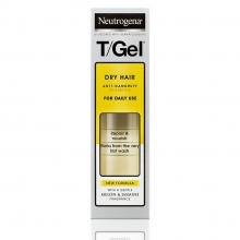 T/Gel Anti-Dandruff 2 in 1 Shampoo for Dry Hair